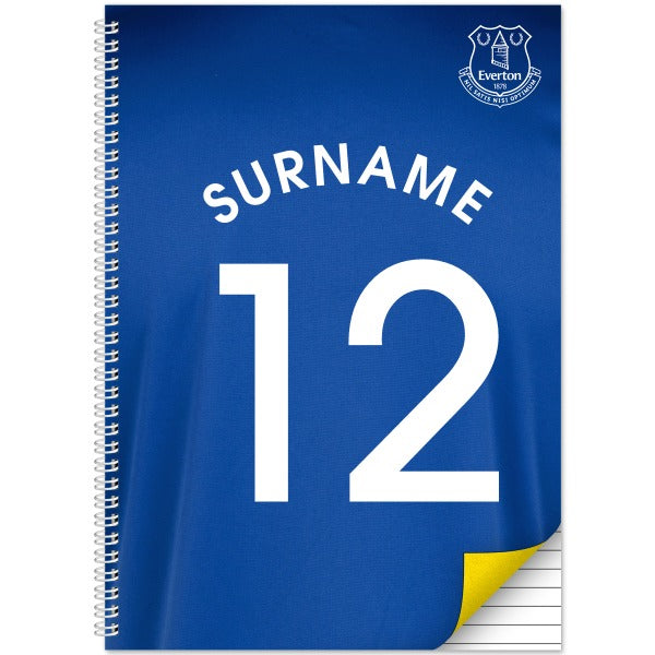 Everton FC Shirt Notebook