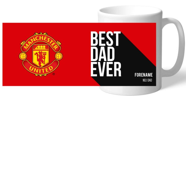 Manchester United FC Best Dad Ever Mug