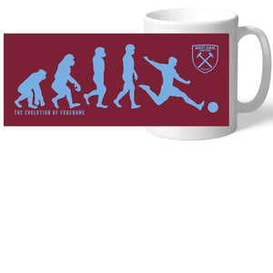 West Ham United FC Evolution Mug