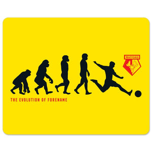 Watford FC Evolution Mouse Mat