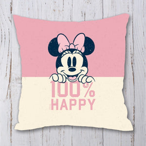 Disney Minnie Mouse 100% Happy Cushion