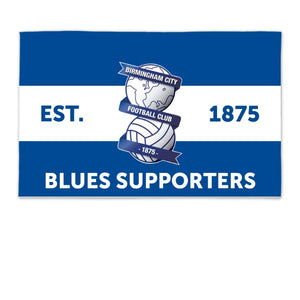Birmingham City Supporters 8ft x 5ft Banner