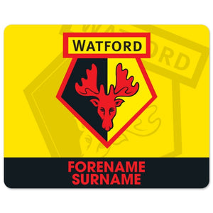 Watford FC Bold Crest Mouse Mat