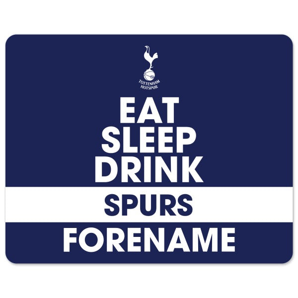 Tottenham Hotspur Eat Sleep Drink Mouse Mat