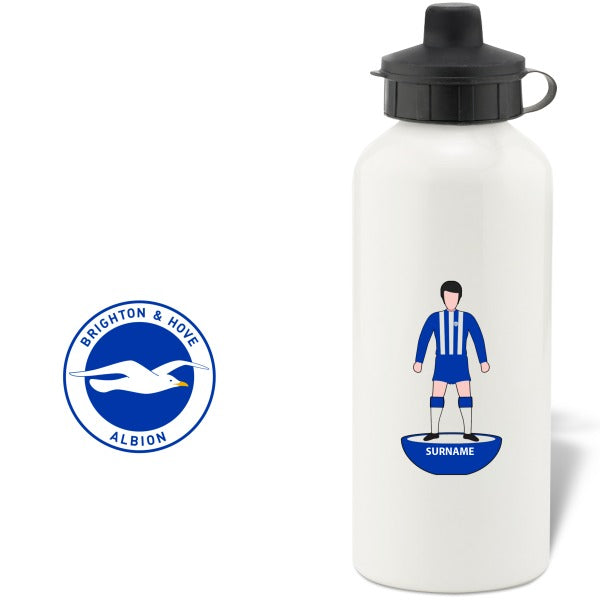 Brighton & Hove Albion FC Player Figure Water Bottle