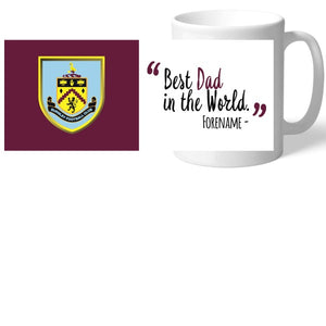 Burnley FC Best Dad In The World Mug