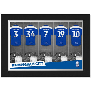 Birmingham City FC 9x6 Dressing Room Photo Folder