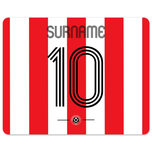 Sheffield United FC Retro Shirt Mouse Mat