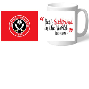 Sheffield United Best Girlfriend In The World Mug