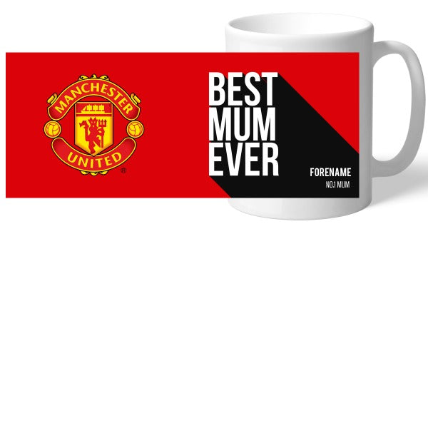 Manchester United FC Best Mum Ever Mug
