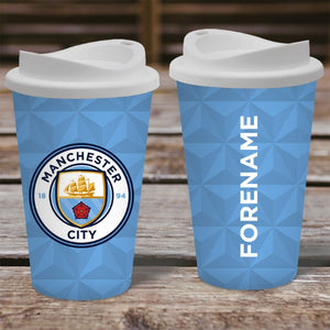 Manchester City FC Crest Reusable Cup