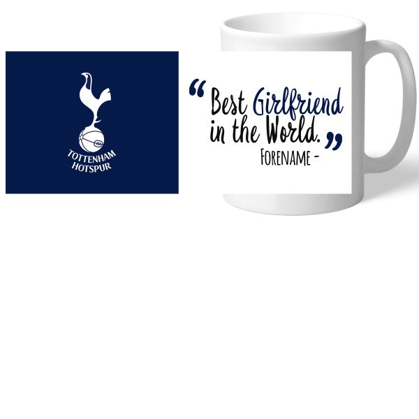 Tottenham Hotspur Best Girlfriend In The World Mug