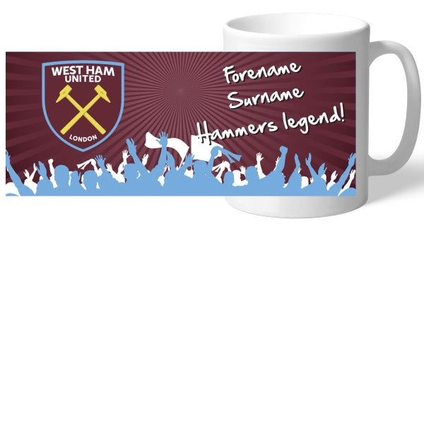 West Ham United FC Legend Mug