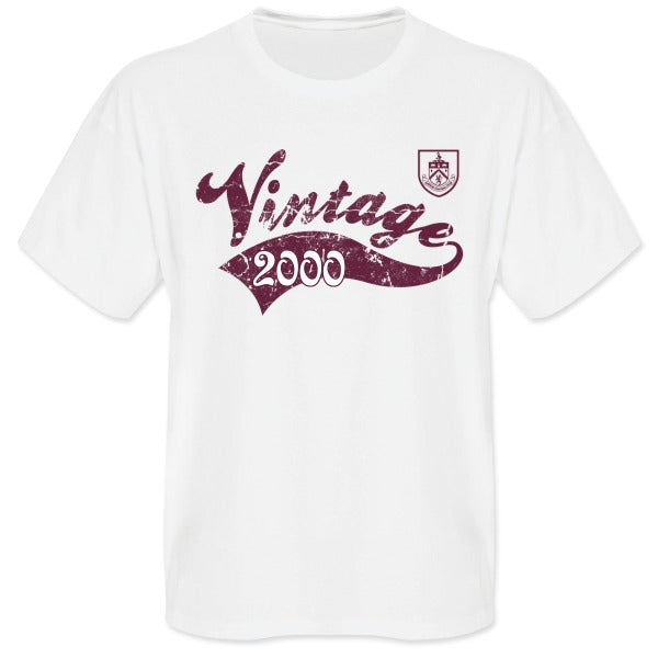 Burnley FC Mens Vintage T-Shirt
