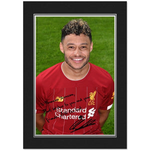 Liverpool FC Oxlade-Chamberlain Autograph Photo Folder