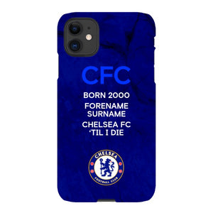 Chelsea FC 'Til I Die iPhone 11 Phone Case