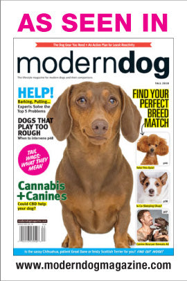 Featured in Modern Dog!!