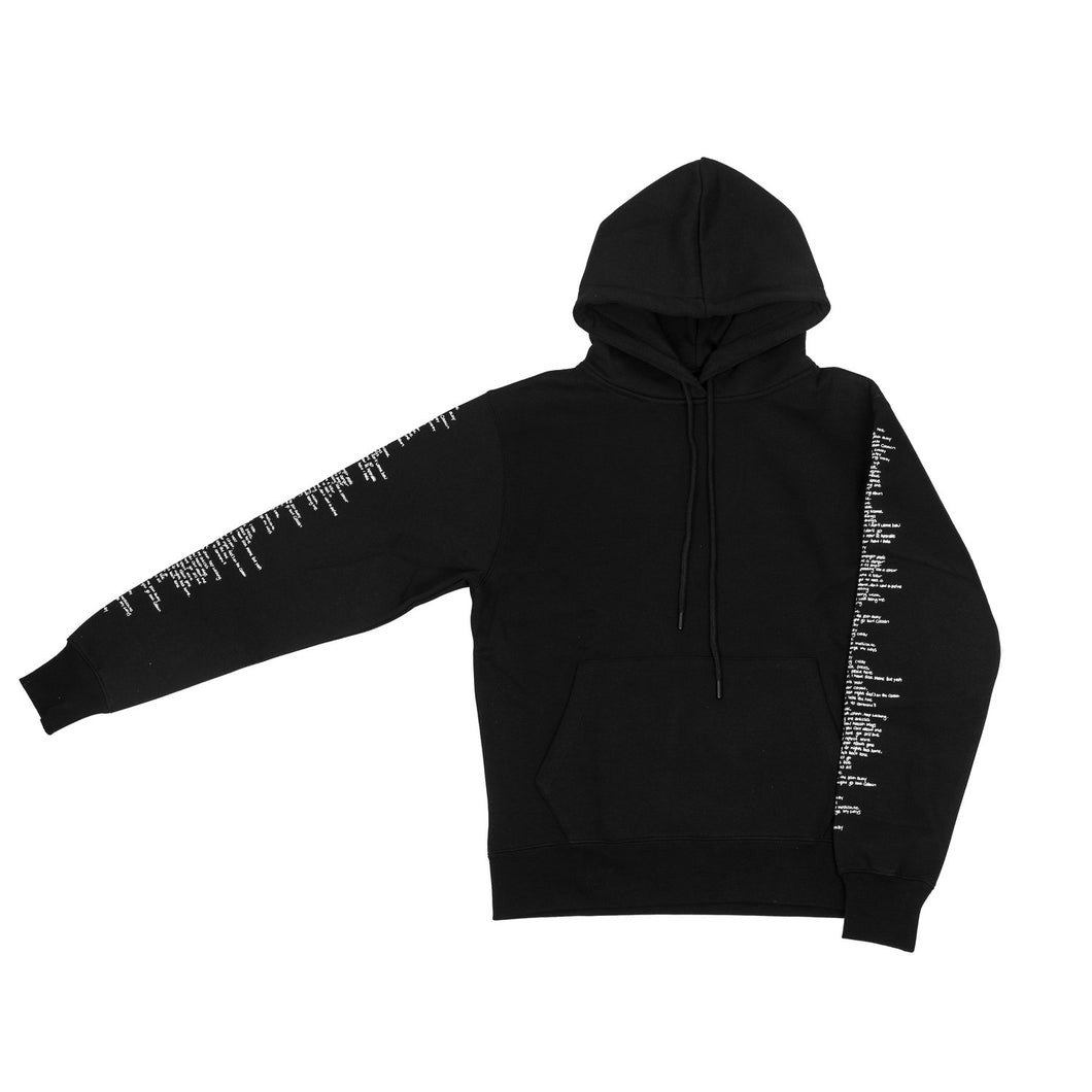 2018 'Mind of Colt' Tour Black Lyric Hoodie