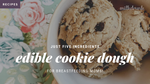 Breastfeeding Cookie Dough with Salted Caramel Vegan Protein