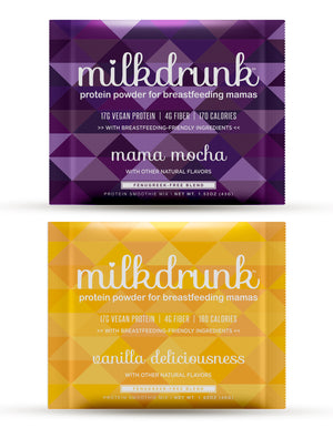 Milk Drunk Try-Me Pack: Vanilla and Mocha