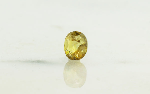 .83 Carat Oval Amber Diamond rotating view
