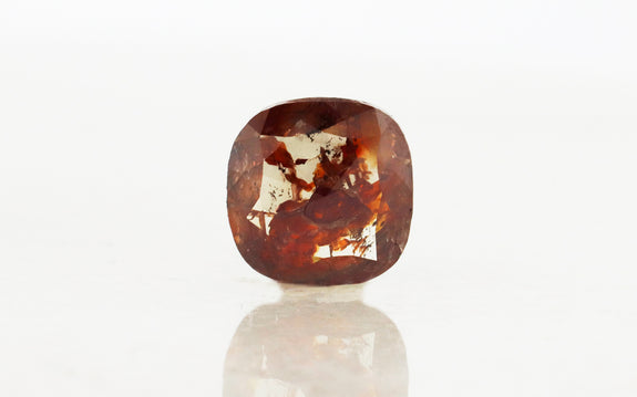 2.13 Carat Cushion Rustic Cognac Diamond
