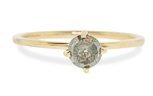 .81 Carat Gray Diamond Ring rotating view