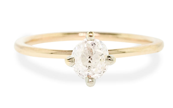 .89 Carat Icy White Diamond Ring rotating view