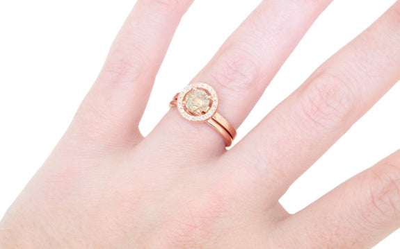 2mm 14k Gold Band in yellow gold