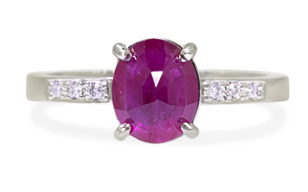 1.75ct Ruby Ring rotating view