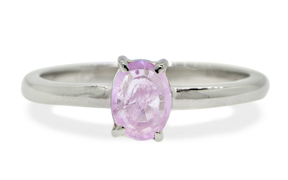 .73ct Pink Sapphire Ring Video Image