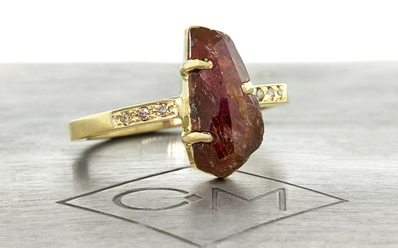 2.77ct Watermelon Tourmaline Ring on logo