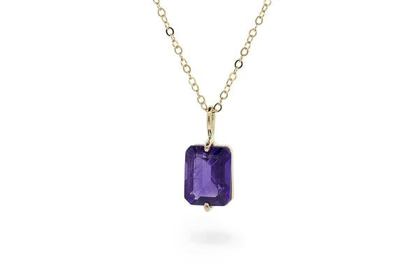 2.6ct Amethyst Necklace video image
