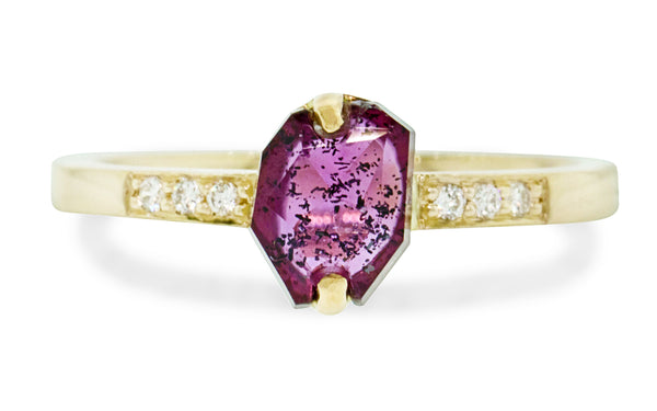 1.09ct Ruby Ring rotating view