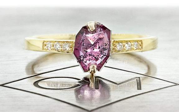 1.09ct Ruby Ring front view