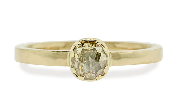 .56 Carat Champagne Diamond in Yellow Gold