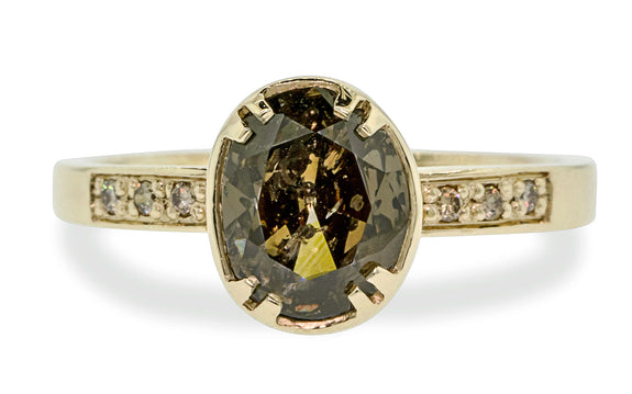 2.17ct Cocoa Diamond Ring rotating view