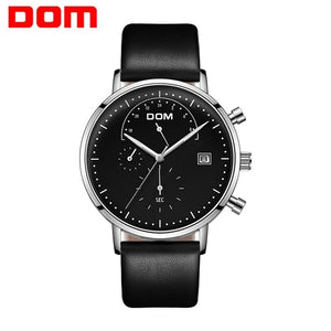 montre DOM watch chronographe tendance