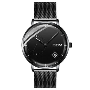 DOM watch homme style acier