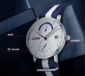 DOM watch homme design
