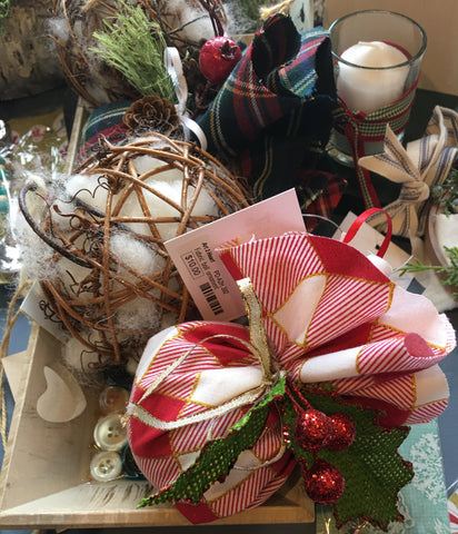 Plaid Christmas Tree Ornaments at Art 2 Heart Gift Shop in Hamel MN