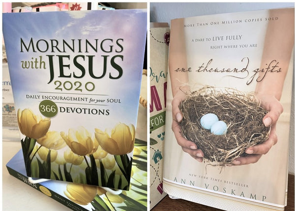 Christian Devotional book for 2020 available at Art 2 Heart Gift Shop in Hamel MN