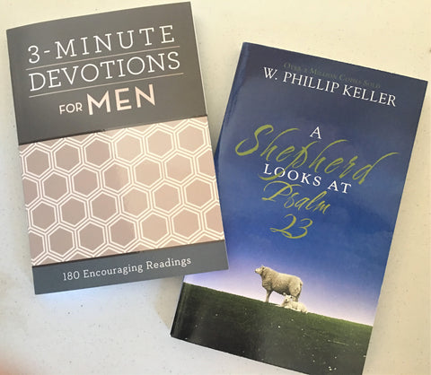 Devotionals for Men from Art 2 Heart Gift Shop in Hamel MN
