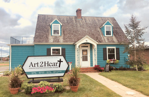 Art 2 Heart is a gift shop in historic uptown Hamel MN