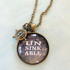 Unsinkable pendant available at Art 2 Heart gift shop in Hamel MN