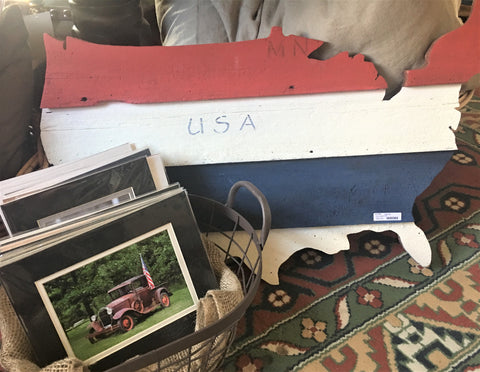 Wood wall art USA and Americana photos from Art 2 Heart Gift Shop in Hamel MN