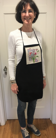 Chef's Apron with Minnesota Embroidery from Art 2 Heart Gift Shop in Hamel MN