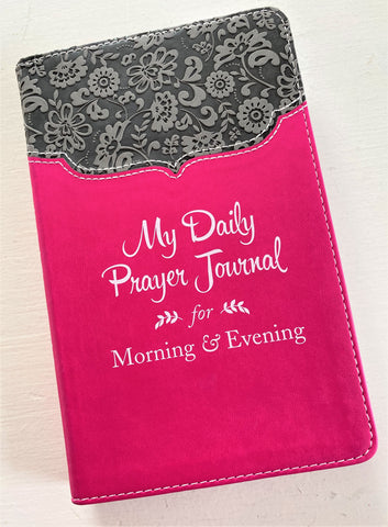 My Daily Prayer Journal available at Art 2 Heart Gift Shop in Hamel MN