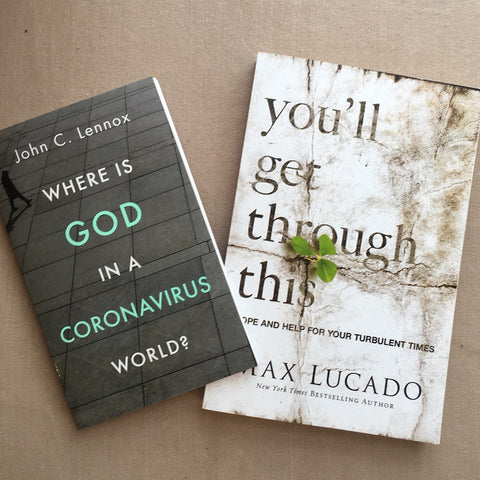 Relevant books: Where is God in a Coronavirus World and You'll Get Through This