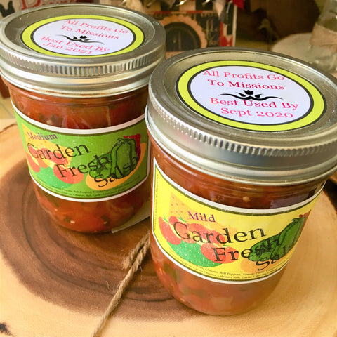 Salsa available at Art 2 Heart gift shop in Hamel MN